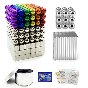 63//126X Magnet Construction Magnetic Bars Set Stick Balls Building Block Fidget