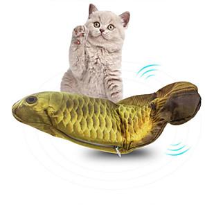 ieftine Jucării-Set de jucării pentru pisici Rozătoare Pisici Pisicuță Animale de Companie  Jucarii 1 buc Pești Reîncărcabil Compatibil animale companie Electronic Reutilizabil Antrenament pentru animale de companie
