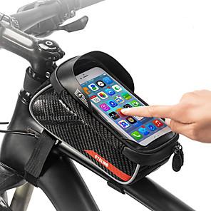 ieftine Lenjerie de corp și de bază Straturi-1.5 L Telefon mobil Bag Ecran tactil Multifunctional Reflexiv Geantă Motor TPU EVA Geantă Biciletă Geantă Ciclism Telefoane de dimensiuni similare Exerciții exterior