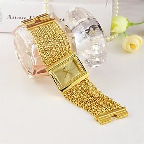 ieftine Ceasuri Damă-Pentru femei Quartz Modă Auriu Aliaj Chineză Quartz Auriu Argintiu Adorabil 1 piesă Analog Un an Durată de Viaţă Baterie