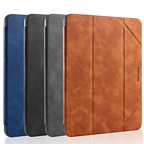 hesapli iPad Kılıfları/Kapakları-Pouzdro Uyumluluk Apple iPad Mini 4 / iPad Mini 5 Şoka Dayanıklı / Flip / Otomatik Uyuma / Uyanma Tam Kaplama Kılıf Solid PU Deri / TPU