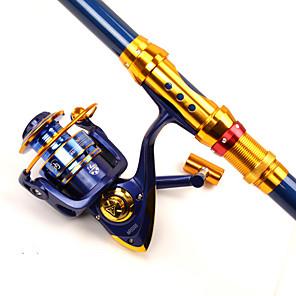 ieftine Tije Pescuit-Horgászorsók Role de filare 5.2:1 Raport Transmisie+14 Rulmenti mână Orientare schimbabil Pescuit mare / Pescuit de Apă Dulce / Pescuit cu undițe tractate & Pescuit din barcă