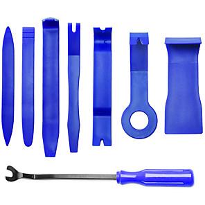 ieftine Stilou de Pictat Mașina-Set de 8 piese de instrumente auto de asamblare și demontare pentru instalarea și scoaterea panoului ușii audio pentru modificarea interioară