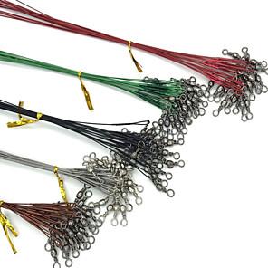 ieftine Pânză Pescuit-Fir de susținere Lider de sârmă din oțel Πετονιά Ψαρέματος 0,15 M / 0,15 Yard 0,2M / 0,2 Yard 0,25 M / 0.25 curte Teak 35LB 28LB 22LB 0.25 mm Pescuit mare Aruncare Momeală Filare / 18LB / 16 lb