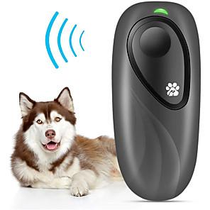 ieftine Lumini & Gadget-uri LED-Dresaj câine Antrenament Ajustabile Dispozitiv anti scoarță Dimensiune Compactă multi-instrument Câine Siguranță Plastic ABS Ajutoare Comportament Ultrasonic 2 în 1 Pentru animale de companie