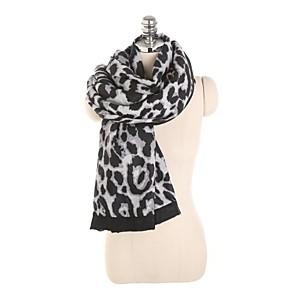 ieftine Pălării Femei-Pentru femei Activ Eșarfe Dreptunghiulare - Imprimeu / Leopard Lavabil
