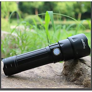 ieftine lanterne-Lanterne LED Rezistent la apă LED emițători 3 Mod Zbor cu Baterii și Cabluri USB Rezistent la apă Portabil Ajustabil LED Camping / Cățărare / Speologie Utilizare Zilnică Ciclism Pescuit Camping