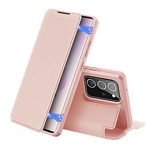 Недорогие Чехол Samsung-чехол для samsung galaxy s10 a41 a71 5g note 20 note 20 ultra a51 5g держатель для карт задняя крышка однотонная искусственная кожа тпу противоударный