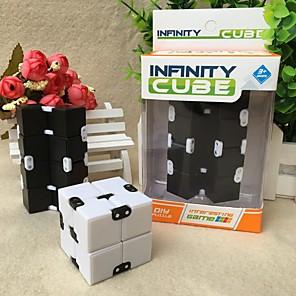 ieftine Cuburi Magice-Cuburi de infinit Fidget Jucarii Cuburi Magice Jucării Educaționale Alină Stresul Noutate Pentru copii Adulți Băieți Fete Plastic
