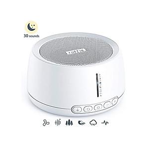 ieftine Confotul Călătoriei-Mașină de zgomot alb Roffe bebeluș sonor sonor hifi non-ciclu liniștitor Timer de sunet și memorie portabil de sunet adecvat pentru adulți pentru copii și intimitate la birou