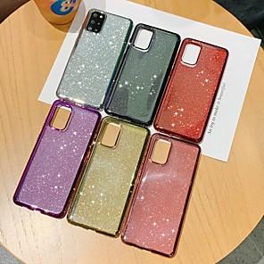 Недорогие Чехол Samsung-чехол для samsung galaxy a70s a90 5g s20 s20 plus s20 ultra a51 a71 a81 note 10 lite m60s a91 s10 lite m80s a011 блеск блеск задняя крышка блеск блеск тпу