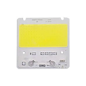 ieftine LED-uri-cip cip cob led led 110v 220v 50w alb alb cald inteligent ic fără nevoie șofer de margele de lumină pentru lumina reflectoarelor lumina de exterior lampa diy iluminare 1 buc