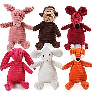 ieftine Jucării-Jucării de Mestecat Jucării chițcăitoare Câini Pisici Animale de Companie  Jucarii 1 buc Animal Compatibil animale companie Bumbac Cadou
