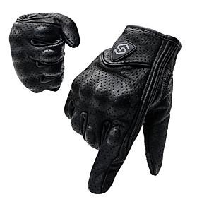 ieftine Mănuși de Motociclist-cs-1048a motociclete de călărie mănuși ecran de atingere cu degetul complet ecran din piele de mână country cross racing racing mănuși de protecție în aer liber cu găuri pentru ventilație