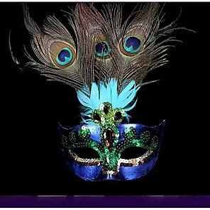 Halloween Utstyr Inspirert av Blå LED Kunstnerisk Halloween Alle Dame / Maske