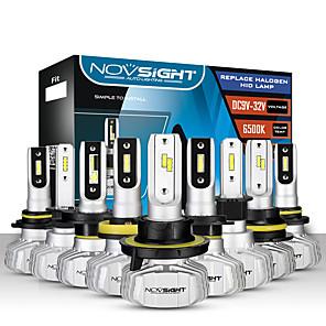 ieftine Faruri de Mașină-novsight 2pcs a500-n15 pentru h1-h3-h7-h11-9005-9006 becuri auto 50 w 10000 lm faruri cu leduri pentru motoare generale universale, toți anii, cu video setat