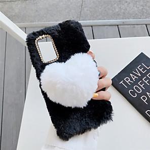 Недорогие Чехлы и кейсы для Galaxy S-чехол для samsung galaxy a71 a51 m40s a70e a11 a41 a81 m60s a91 a01 a21 m11 a51 (5g) a71 (5g) a21s note 20 противоударный узор задняя крышка сердце тпу хлопок ткань