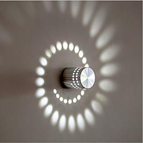 ieftine Abajure Perete-Draguț / Crăciun decor de nunta LED / Modern Lumini LED de Perete Sufragerie / Magazien / Cafenele Metal Lumina de perete IP44 90-264V 1 W