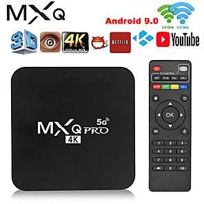 hesapli TV Kutuları-smart tv box mxq pro 4k 5ghz android 9.0 hd 3d 2.4g 5g wifi amlogic s905w smart tv 2gb 16gb android tv box media player global