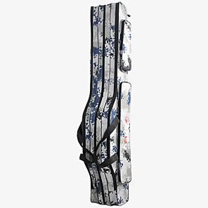 hesapli Balıkçılık Kutuları-Balıkçılık Çubuğu Torbası Katlanabilir Tuval 100/150 cm