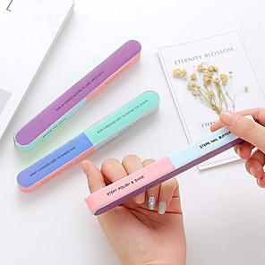 ieftine Gadget Baie-3 bucăți de șlefuire profesională șmirghel blocuri de șlefuit unghii șlefuire lustruire instrumente de îngrijire manichiură