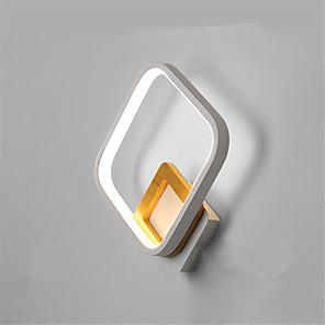ieftine Becuri LED Plafon-lampa de perete nordica minimalista lampa de noptiera moderna led lampa de hol calda sufragerie tv fundal lampa de perete