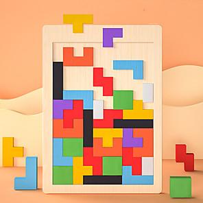 hesapli İnşaat ve Bloklar-Tetris Legolar Hala Hyatta uyumlu Ahşap Legoing Odak Çal Klasik Oyuncaklar Hediye / Çocuklar için