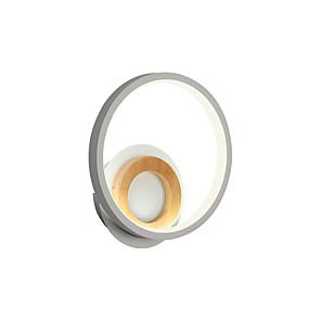ieftine Abajure Perete-lampă de perete nordică minimalistă lampă de noptieră rotundă modernă lampă de hol caldă sufragerie tv fundal lampă de perete