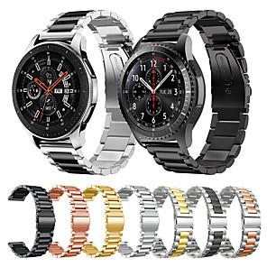 Недорогие Часы для Samsung-металлический браслет из нержавеющей стали ремешок для часов для samsung galaxy watch 46mm / gear s3 classic / frontier браслет сменный браслет