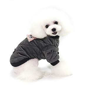 ieftine Imbracaminte & Accesorii Căței-Câini Haine Hanorca Mată Casual / sportiv Modă Casul / Zilnic Iarnă Îmbrăcăminte Câini Respirabil Negru Roz Costume Bumbac S M L XL XXL