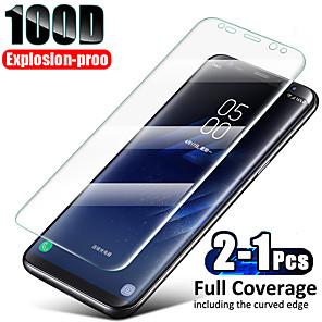 Недорогие Чехол Samsung-полное покрытие закаленное стекло для samsung galaxy s10 plus стекло s9 s8 защита экрана s10 lite s7 edge note 10 s10 lite защита