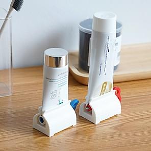 ieftine Gadget Baie-3buc accesorii baie pasta de dinti storcator pasta de dinti distribuitor tub stoarcerator facial curatator presa presa rulare suport pentru copii
