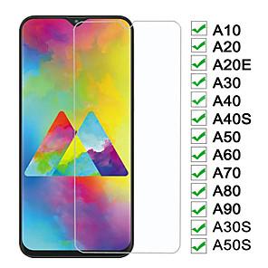 Недорогие Чехол Samsung-2 шт. Защитное стекло для samsung galaxy a10 a20 a30 a40 a50 a60 защитная пленка для экрана a70 a80 a90 a10e a10s a20e a20s m20 m30 m30s a30s a40s a50s пленка из закаленного стекла