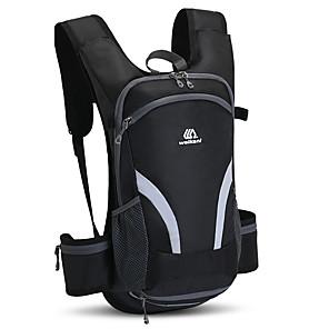 ieftine Rucsaci & Genți-15 L Hidratare pachet de rucsac Anti-Alunecare Uscare Rapidă Respirabilitate Purtabil În aer liber Camping Bicicletă Jogging Oxford Albastru și Negru Negru Portocaliu