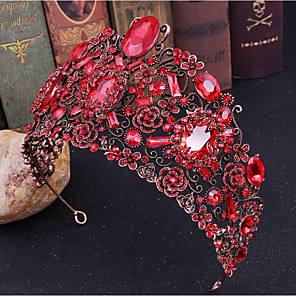 ieftine Bijuterii de Păr-Pentru femei Pentru Nuntă Petrecere / Seară Mascaradă Serie de Bijuterii pava Diamant sintetic Aliaj Alb Mov Roșu-aprins 1 buc