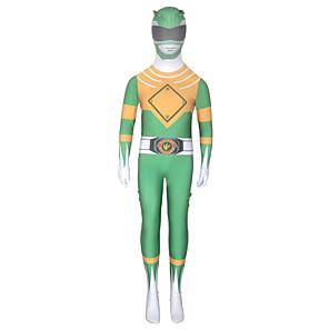 ieftine Cosplay Anime-Inspirat de Power Rangers Puternic morfin Anime Costume Cosplay Japoneză Costume Cosplay Zentai Pentru Băieți Fete