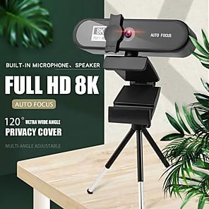 저렴한 -회의 pc 웹캠 자동 초점 usb 웹 카메라 노트북 데스크탑 for office meeting home with mic 1080p hd web cam 8802 8k version