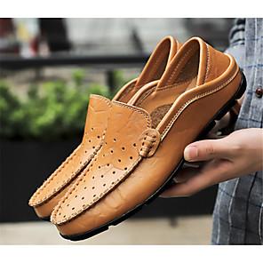 זול -בגדי ריקוד גברים נעליים מודרניות עכשווי שטוחות אוקספורד מפלגה בית הספר מסיבה אלגנטית צלילה לטייל חוץ PU גולף נהיגה אביב, סתיו, חורף, קיץ