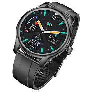 tanie -W9 Inteligentny zegarek EKG + PPG Stoper Krokomierz Wodoodporny Ekran dotykowy Pulsometry IP68 46mm etui na zegarek na Android iOS Mężczyźni Kobiety / Pomiar ciśnienia krwi / Rejestrator snu / Kamera