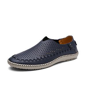 ราคาถูก -ข้ามพรมแดนโฟร์ซีซั่นส์ผู้ชายขนาดใหญ่รองเท้าหนังลำลองนุ่ม แต่เพียงผู้เดียวรองเท้าเย็บผ้าลำลอง