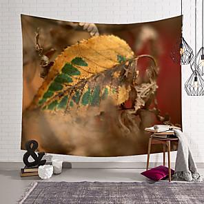 저렴한 -잎 가을 벽 태피스트리 아트 장식 담요 커튼 교수형 홈 침실 거실 장식 폴리 에스테르