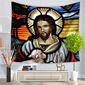 저렴한 -벽 태피스트리 아트 장식 담요 커튼 매달려 홈 침실 거실 장식 폴리 에스테르