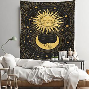 저렴한 -타로 점 벽 태피스트리 아트 장식 담요 커튼 교수형 홈 침실 거실 장식 폴리 에스테르