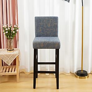 저렴한 -인쇄 슈퍼 부드러운 의자 커버 스트레치 이동식 빨 식당 의자 보호 커버 홈 장식 식당 시트 커버 1 조각