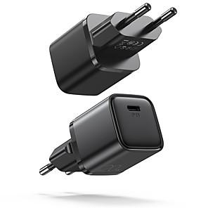 abordables -Joyroom 20 W Puissance de sortie Chargeur PD Chargeur USB Chargeur de téléphone Chargeur de portable Portable Charge Rapide Pour iPad Mobile