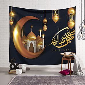 voordelige -eid al-adha wandtapijten art decor deken gordijn opknoping thuis slaapkamer woonkamer decoratie