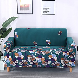 cheap -Sofa Cover Multi Color / Solid Colored / Classic Yarn Dyed Polyester Slipcovers