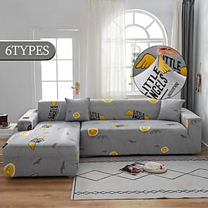 cheap -Stretch Sofa Cover Slipcovers Elastic All-inclusive Couch Case for Different Shape Sofa Loveseat Chair L-Style Sofa Case Fit for 1-4 Cushion Couch and L Shape Sofa (1pcFree Send a Pillowcase)