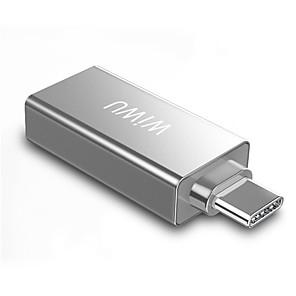 abordables -WiWU Haut débit T02 USB 3.0 de USB C à USB 2.0 USB 3.0 Concentrateur USB 2 Les ports Pour Windows, PC, ordinateur portable