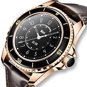 tanie -LIGE BW0250 Inteligentny zegarek Krokomierz Rejestrator snu Pulsometry Wodoodporny Ekran dotykowy Informacje IP 67 42mm etui na zegarek na Android iOS Mężczyźni Kobiety / siedzący Przypomnienie